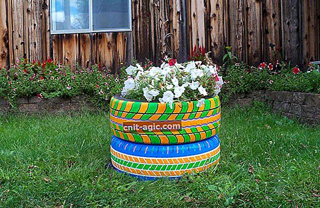 DIY dæk blomsterbed