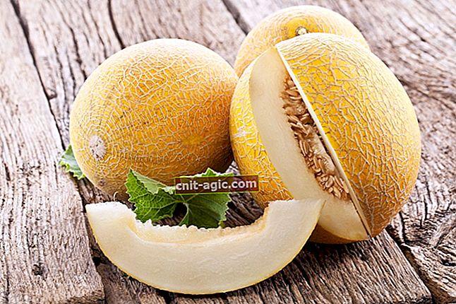 Duftende meloner fra hagen din